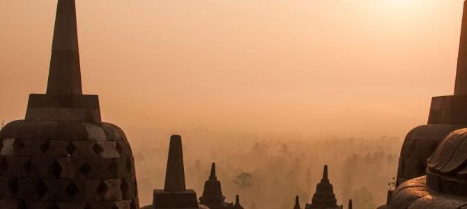 Les splendeurs de Borobudur