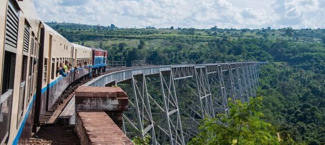 Train journey – Hsipaw to Pyin Oo Lwin