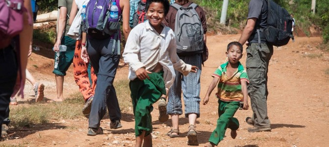 Kalaw to Inle on foot….