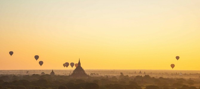 The temples (and tourists) of Bagan