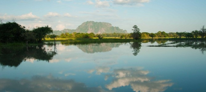 The mountains of Hpa An