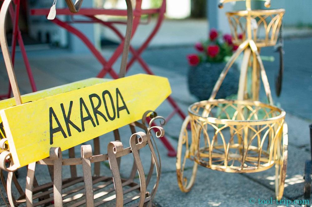 Akaroa sign