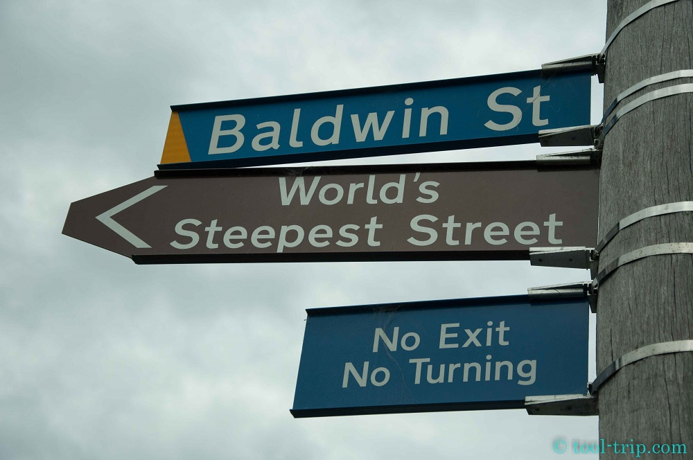 Baldwin st sign