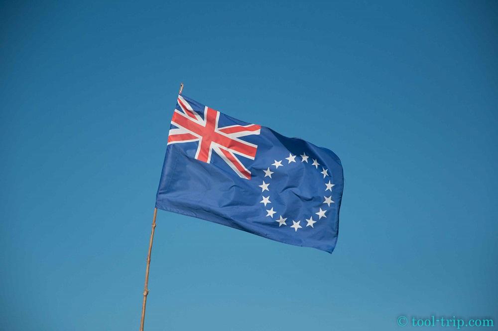 Flag Cook islands