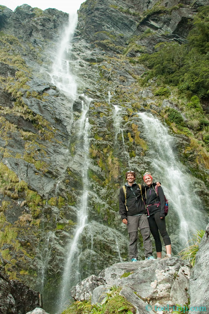 Routeburn waterfall