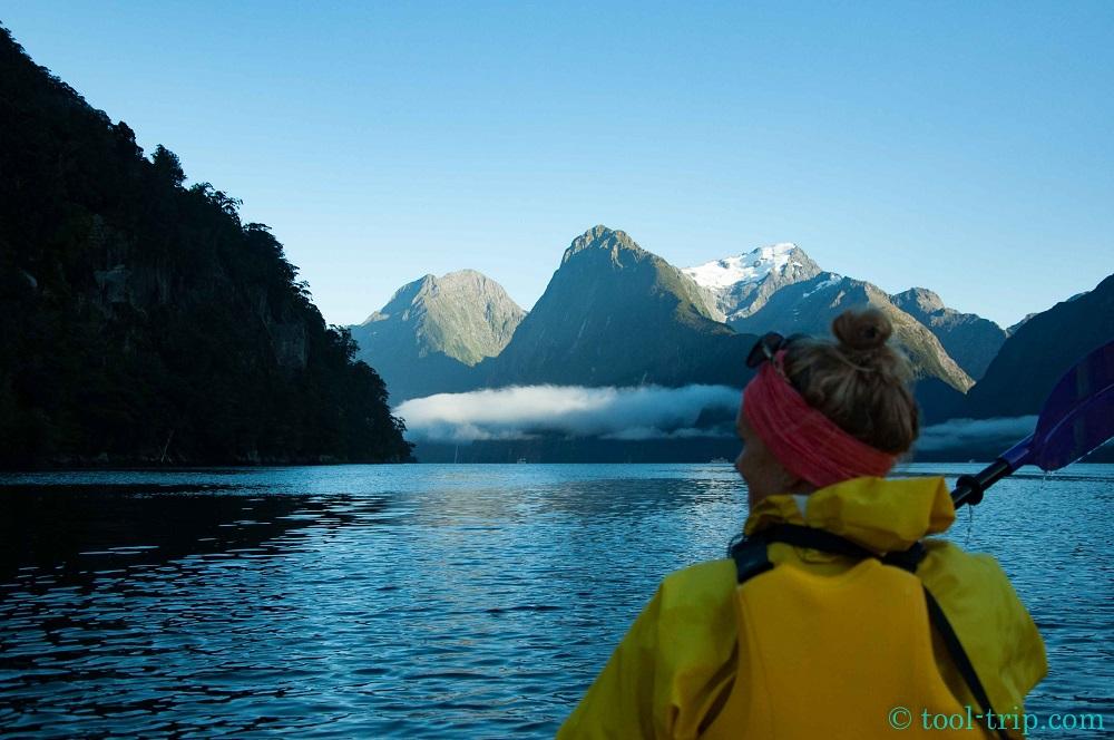 Soph kayak sunrise