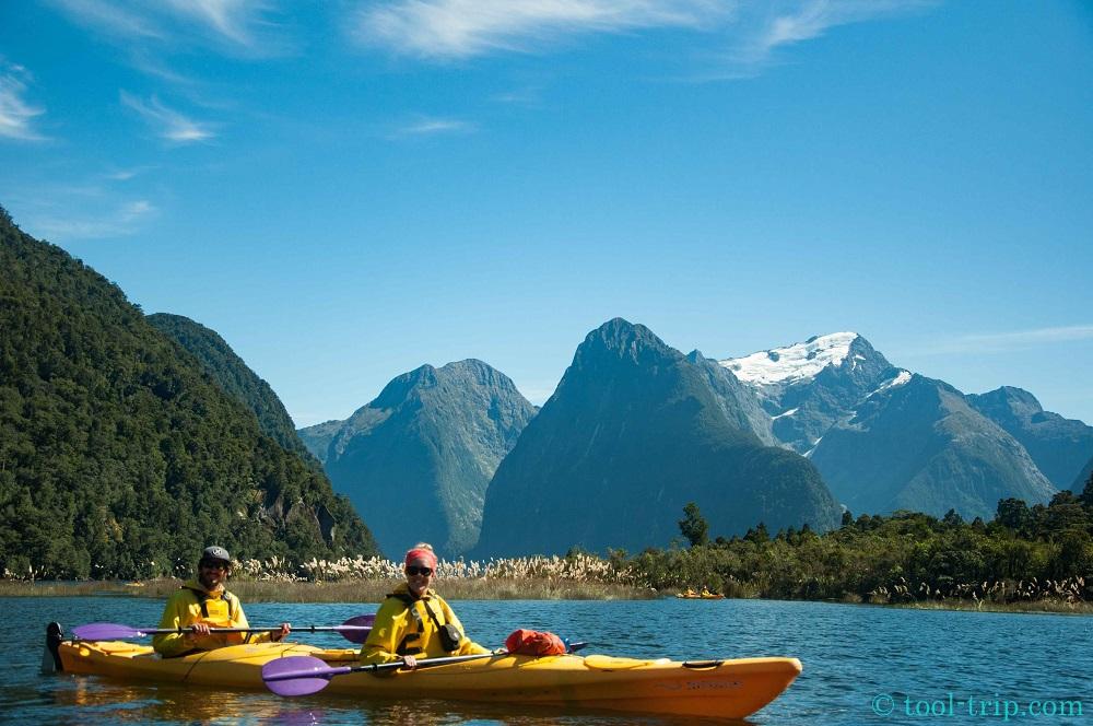 jm and soph kayak
