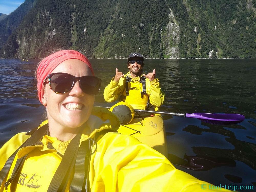 selfie kayak