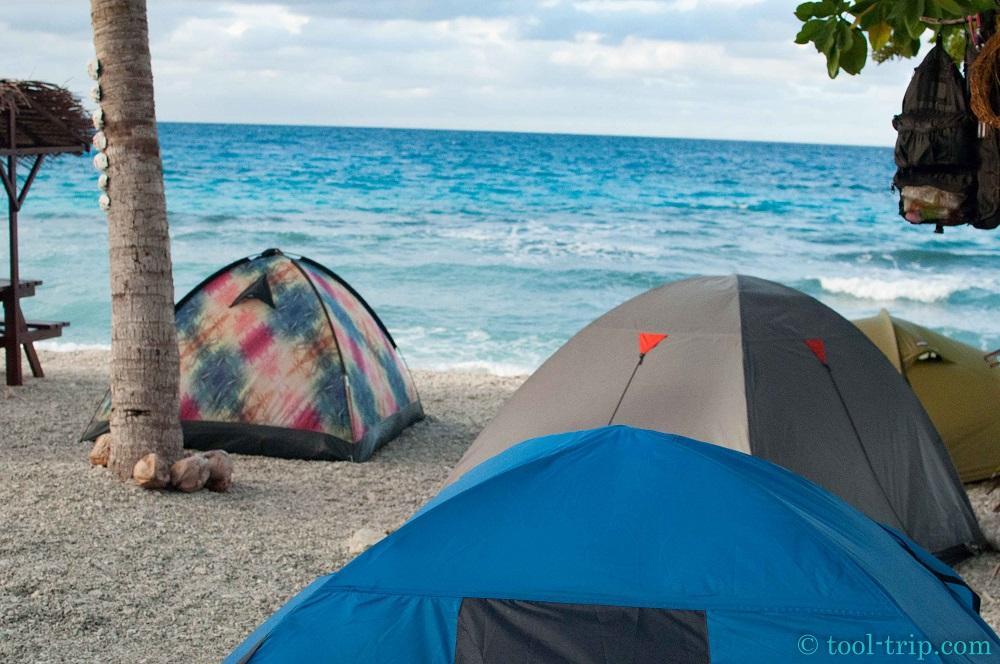 Camping Rangi plage