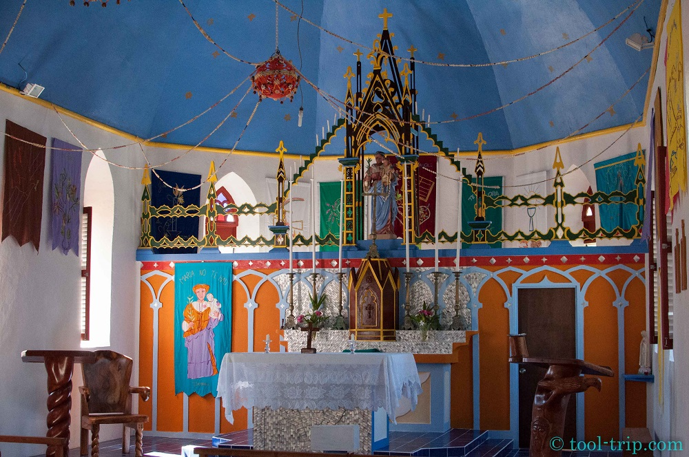 Eglise Tetamanu village