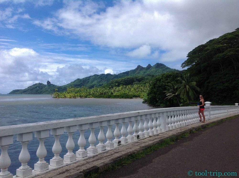 Pont Huahine