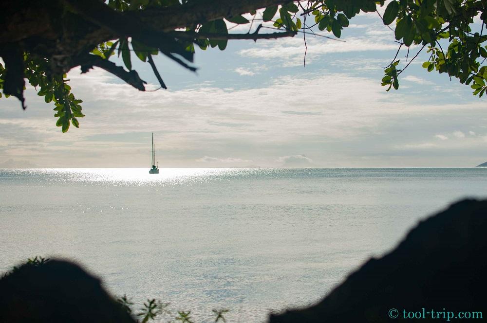 Vue lagon