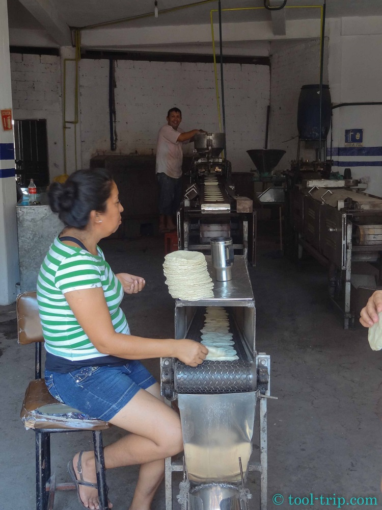 Factory tortilla