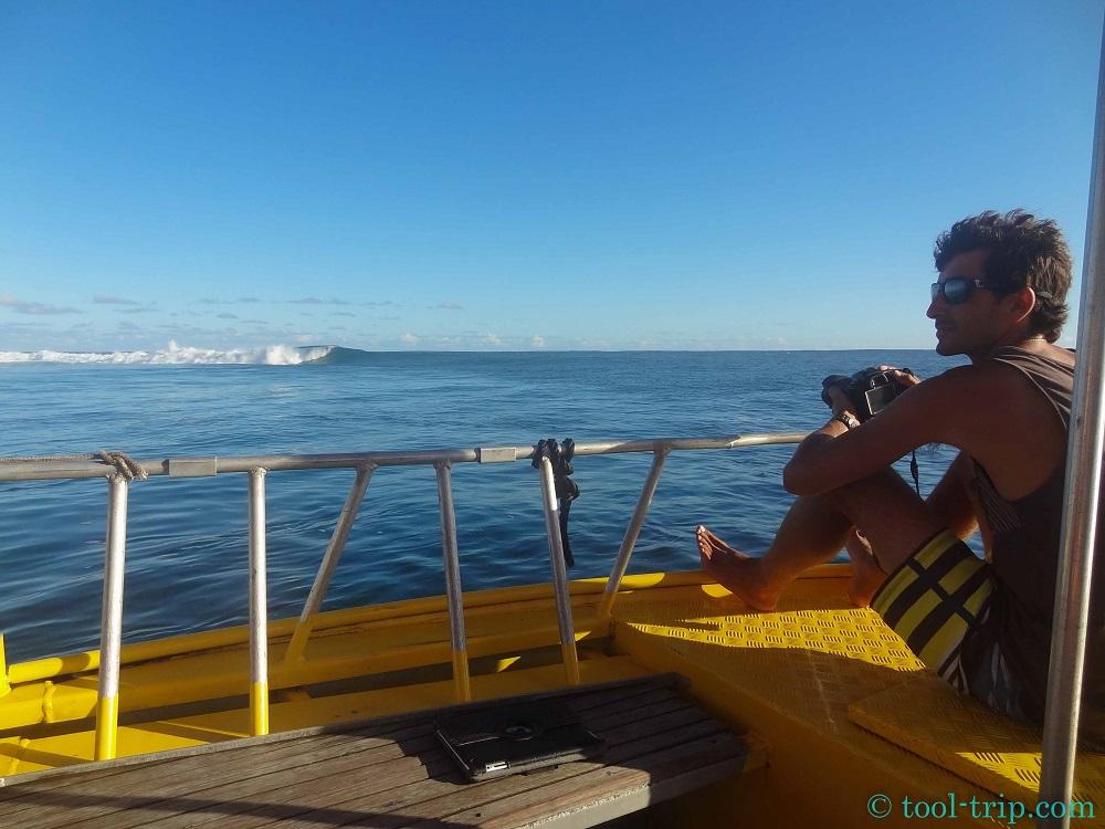 Photographe taxi boat