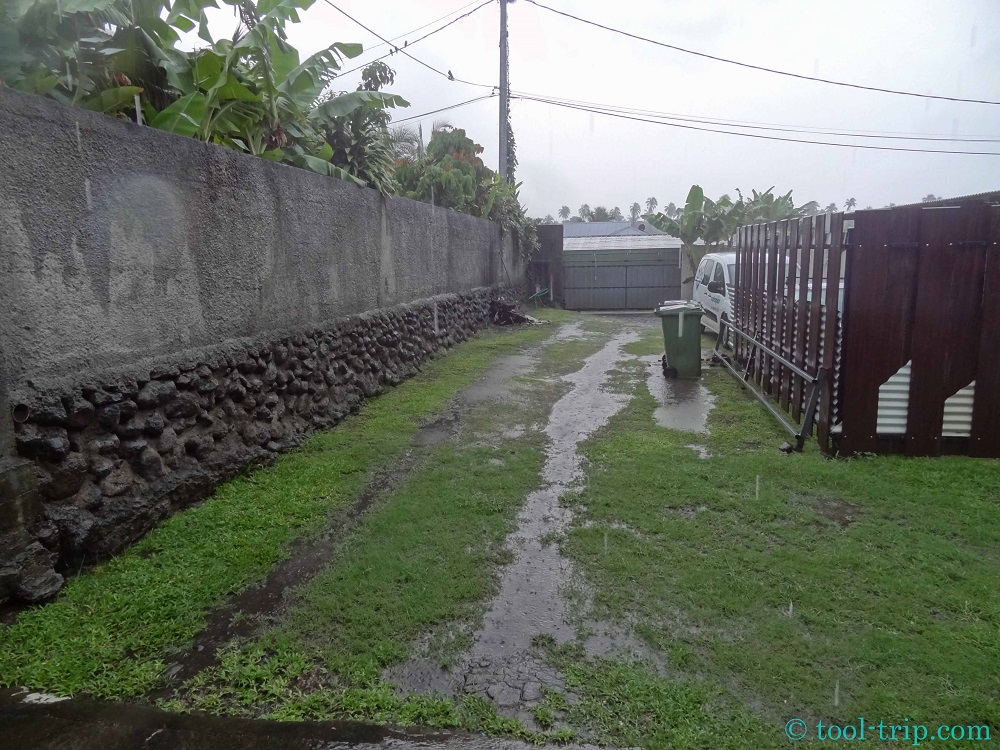 Pluie Paea