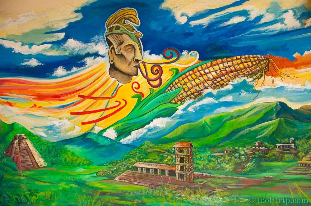 Street art maia
