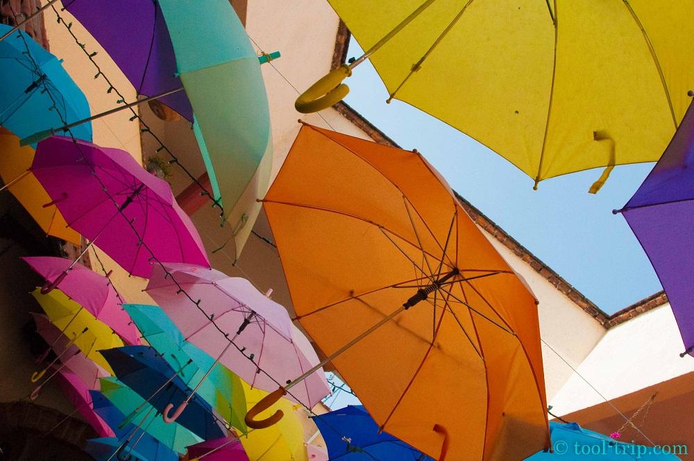 Tlaquepaque parapluies