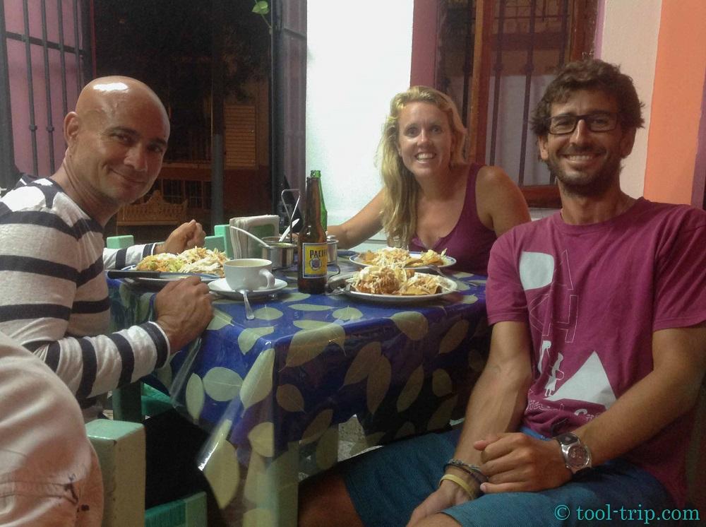 Trio dinner