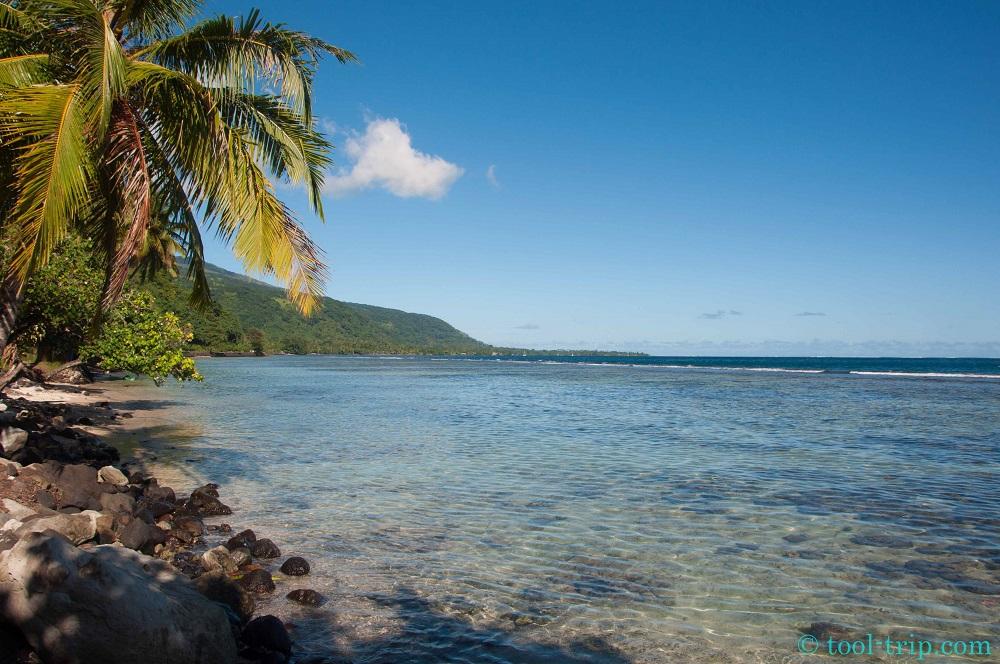 View lagoon Tahiti Iti