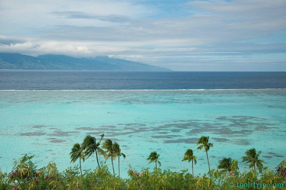 Vue Tahiti Temae