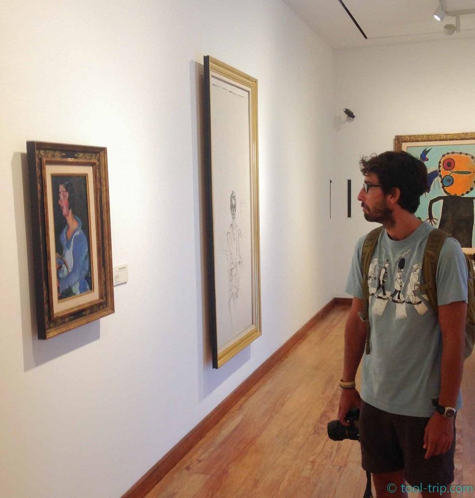 JM stunned museum
