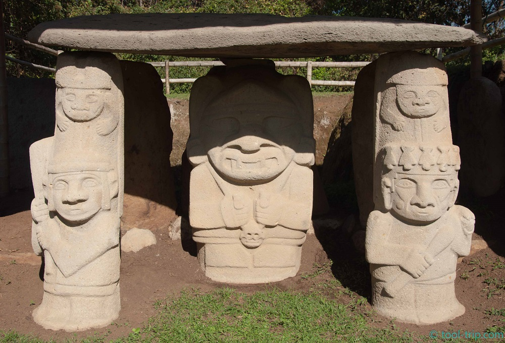 Parque trio dolmen