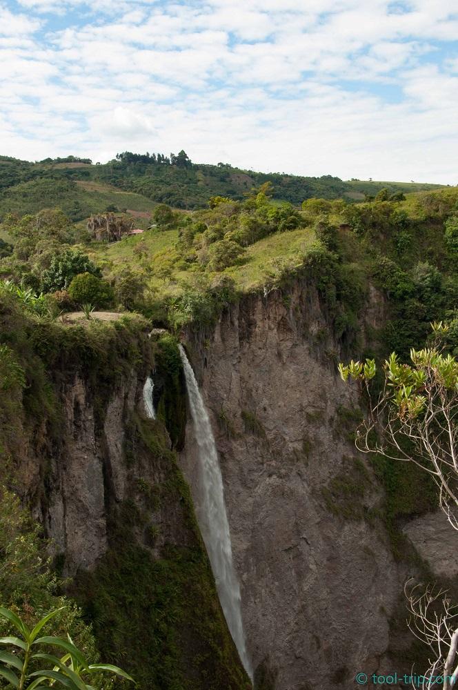 Waterfall salto del Mortino
