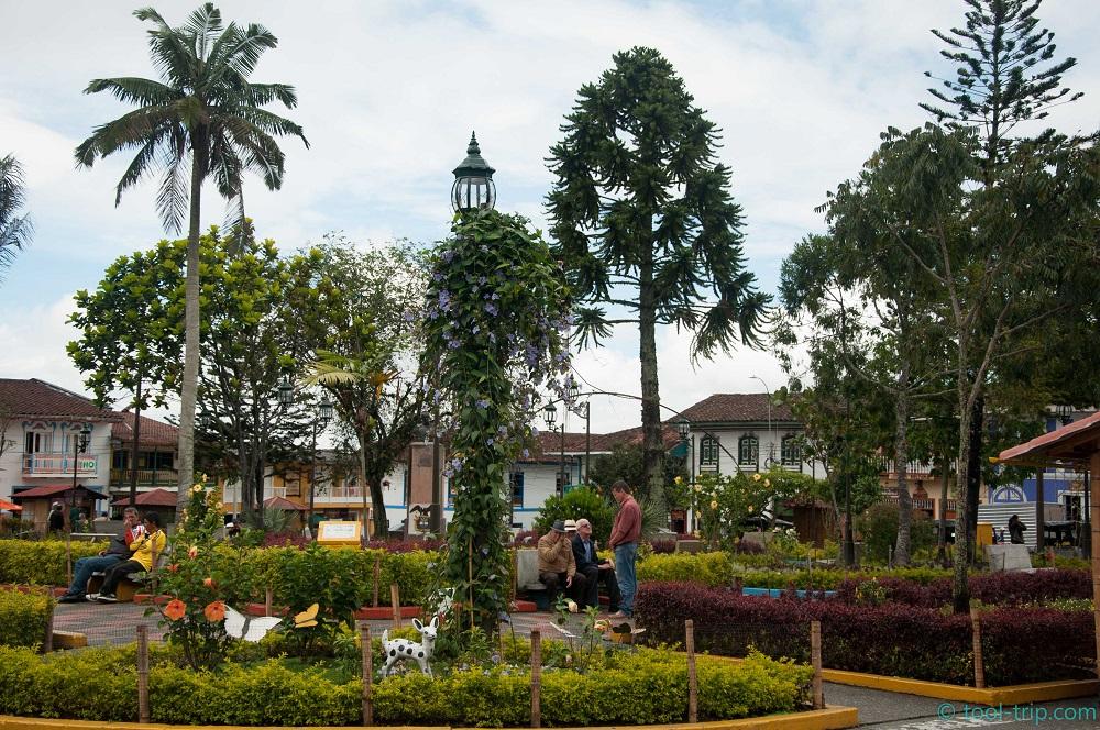 Filandia central square