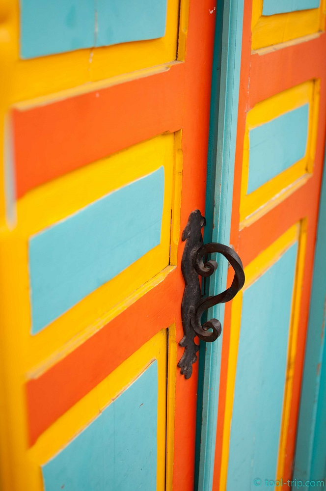 Salento Colourful doors