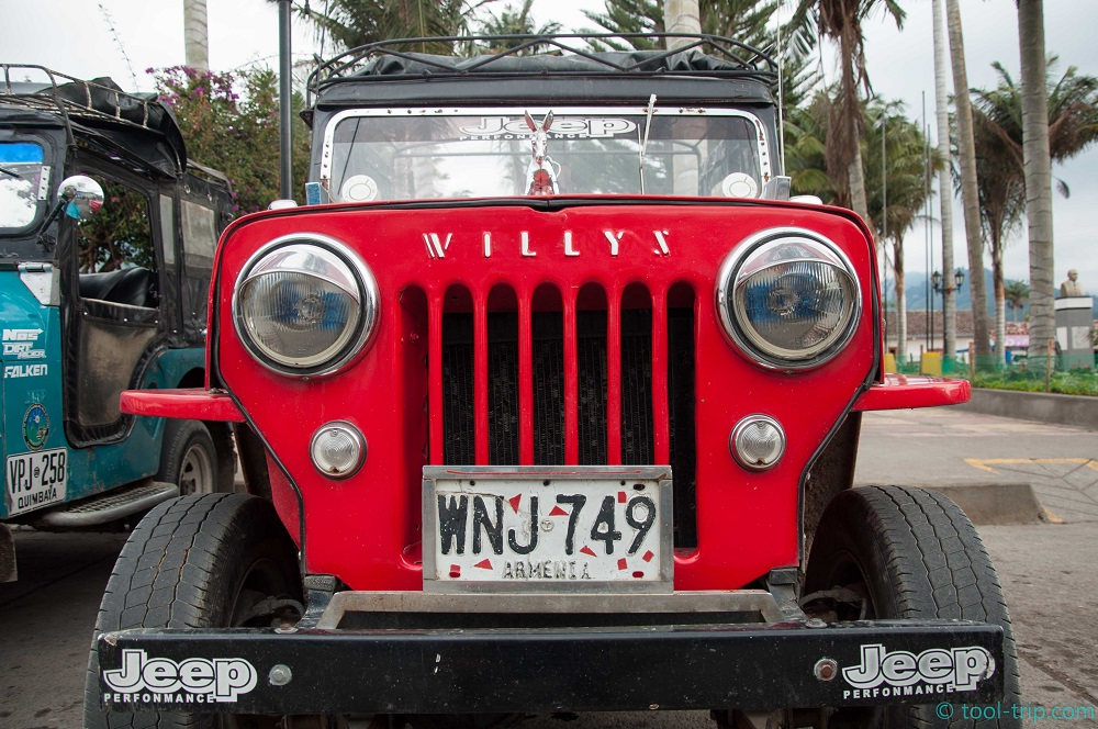 Willy truck to Cocora