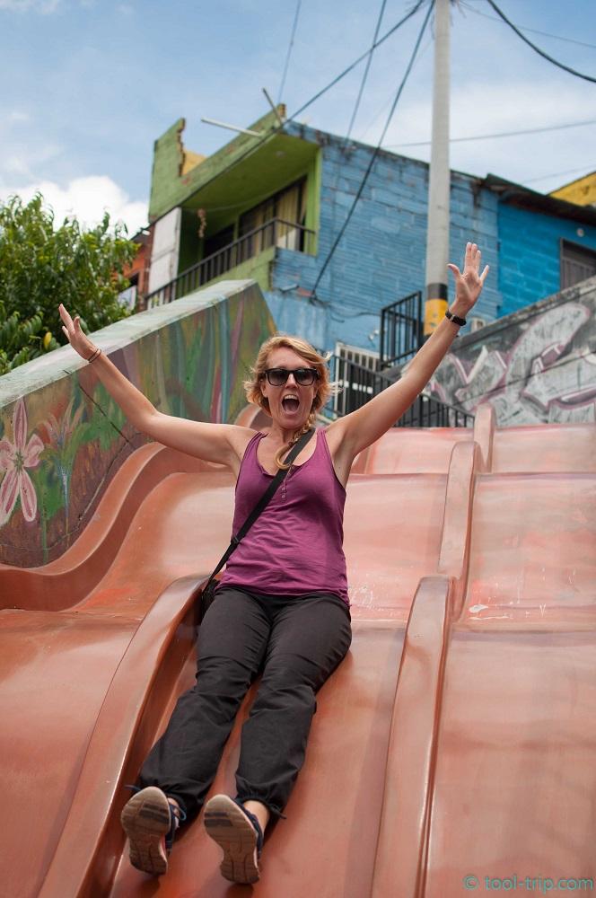 slide-in-middle-of-favela